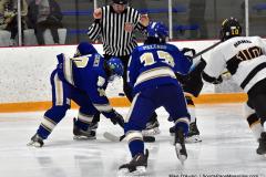 CIACT Ice Hockey D3 QFs; #1 Hand 5 vs. #8 Newtown 0 - Photo # 986