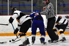 CIACT Ice Hockey D3 QFs; #1 Hand 5 vs. #8 Newtown 0 - Photo # 990