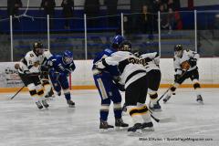 CIACT Ice Hockey D3 QFs; #1 Hand 5 vs. #8 Newtown 0 - Photo # 995