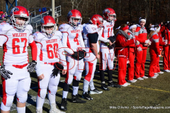 Gallery CIAC Football; Holy Cross vs. Wolcott - Photo # 441f
