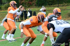 CACC Sprint Football; Post 10 vs. Mansfield 14 - Photo # (181)