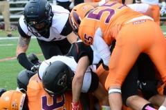 CACC Sprint Football; Post 10 vs. Mansfield 14 - Photo # (186)