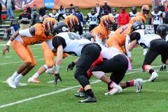 CACC Sprint Football; Post 10 vs. Mansfield 14 - Photo # (201)