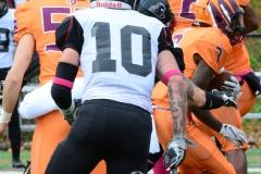 CACC Sprint Football; Post 10 vs. Mansfield 14 - Photo # (206)