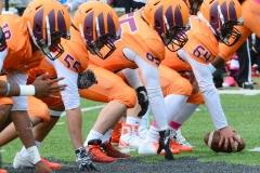 CACC Sprint Football; Post 10 vs. Mansfield 14 - Photo # (216)