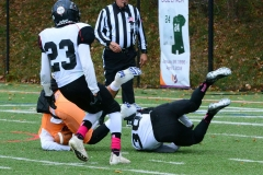 CACC Sprint Football; Post 10 vs. Mansfield 14 - Photo # (257)