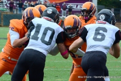CACC Sprint Football; Post 10 vs. Mansfield 14 - Photo # (268)