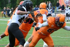 CACC Sprint Football; Post 10 vs. Mansfield 14 - Photo # (286)
