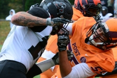 CACC Sprint Football; Post 10 vs. Mansfield 14 - Photo # (287)