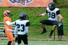 CACC Sprint Football; Post 10 vs. Mansfield 14 - Photo # (314)