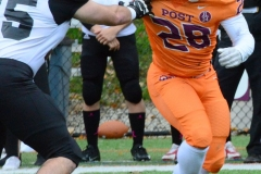 CACC Sprint Football; Post 10 vs. Mansfield 14 - Photo # (318)