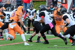 CACC Sprint Football; Post 10 vs. Mansfield 14 - Photo # (319)