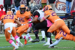 CACC Sprint Football; Post 10 vs. Mansfield 14 - Photo # (341)