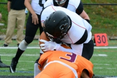 CACC Sprint Football; Post 10 vs. Mansfield 14 - Photo # (351)