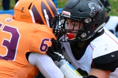 CACC Sprint Football; Post 10 vs. Mansfield 14 - Photo # (383)