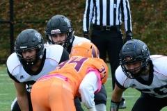 CACC Sprint Football; Post 10 vs. Mansfield 14 - Photo # (419)