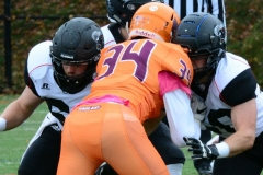 CACC Sprint Football; Post 10 vs. Mansfield 14 - Photo # (420)
