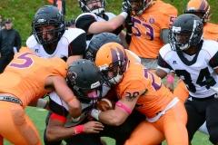 CACC Sprint Football; Post 10 vs. Mansfield 14 - Photo # (457)