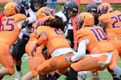 CACC Sprint Football; Post 10 vs. Mansfield 14 - Photo # (521)