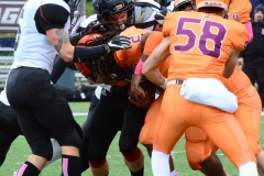 CACC Sprint Football; Post 10 vs. Mansfield 14 - Photo # (525)