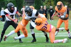 CACC Sprint Football; Post 10 vs. Mansfield 14 - Photo # (537)