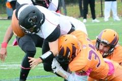 CACC Sprint Football; Post 10 vs. Mansfield 14 - Photo # (539)