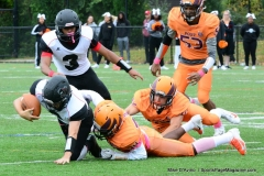 CACC Sprint Football; Post 10 vs. Mansfield 14 - Photo # (540)