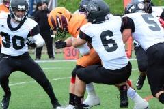 CACC Sprint Football; Post 10 vs. Mansfield 14 - Photo # (552)