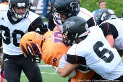 CACC Sprint Football; Post 10 vs. Mansfield 14 - Photo # (553)