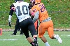 CACC Sprint Football; Post 10 vs. Mansfield 14 - Photo # (562)