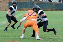 CACC Sprint Football; Post 10 vs. Mansfield 14 - Photo # (570)