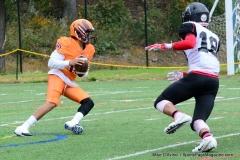 CACC Sprint Football; Post 10 vs. Mansfield 14 - Photo # (657)
