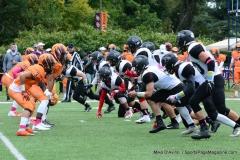CACC Sprint Football; Post 10 vs. Mansfield 14 - Photo # (670)