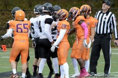 CACC Sprint Football; Post 10 vs. Mansfield 14 - Photo # (7)