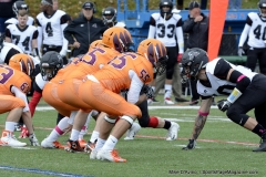 CACC Sprint Football; Post 10 vs. Mansfield 14 - Photo # (708)