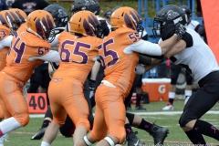 CACC Sprint Football; Post 10 vs. Mansfield 14 - Photo # (711)