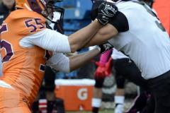 CACC Sprint Football; Post 10 vs. Mansfield 14 - Photo # (713)