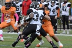 CACC Sprint Football; Post 10 vs. Mansfield 14 - Photo # (746)