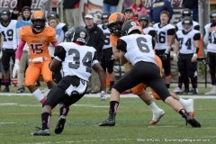 CACC Sprint Football; Post 10 vs. Mansfield 14 - Photo # (747)
