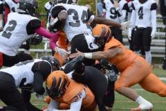CACC Sprint Football; Post 10 vs. Mansfield 14 - Photo # (750)