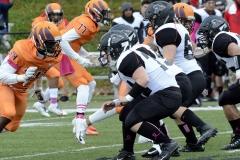 CACC Sprint Football; Post 10 vs. Mansfield 14 - Photo # (761)