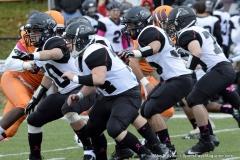 CACC Sprint Football; Post 10 vs. Mansfield 14 - Photo # (762)