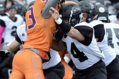 CACC Sprint Football; Post 10 vs. Mansfield 14 - Photo # (763)