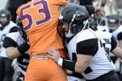 CACC Sprint Football; Post 10 vs. Mansfield 14 - Photo # (764)