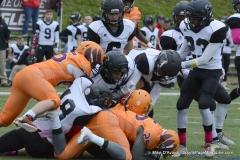 CACC Sprint Football; Post 10 vs. Mansfield 14 - Photo # (834)