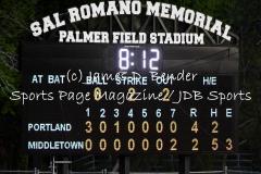 Gallery CIAC Baseball Middletown 2 vs. Portland 4
