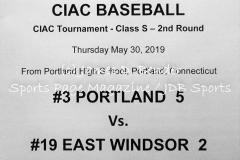 Gallery CIAC Baseball Portland 5 vs. East Windsor 2