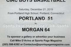 Gallery CIAC BBSK: Portland 51 vs. Morgan 64