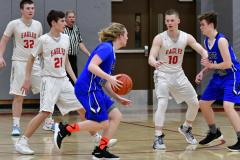 CIAC Boys Basketball; Wolcott 69 vs. East Hampton 63 - Photo # 1009