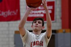 CIAC Boys Basketball; Wolcott 69 vs. East Hampton 63 - Photo # 1021